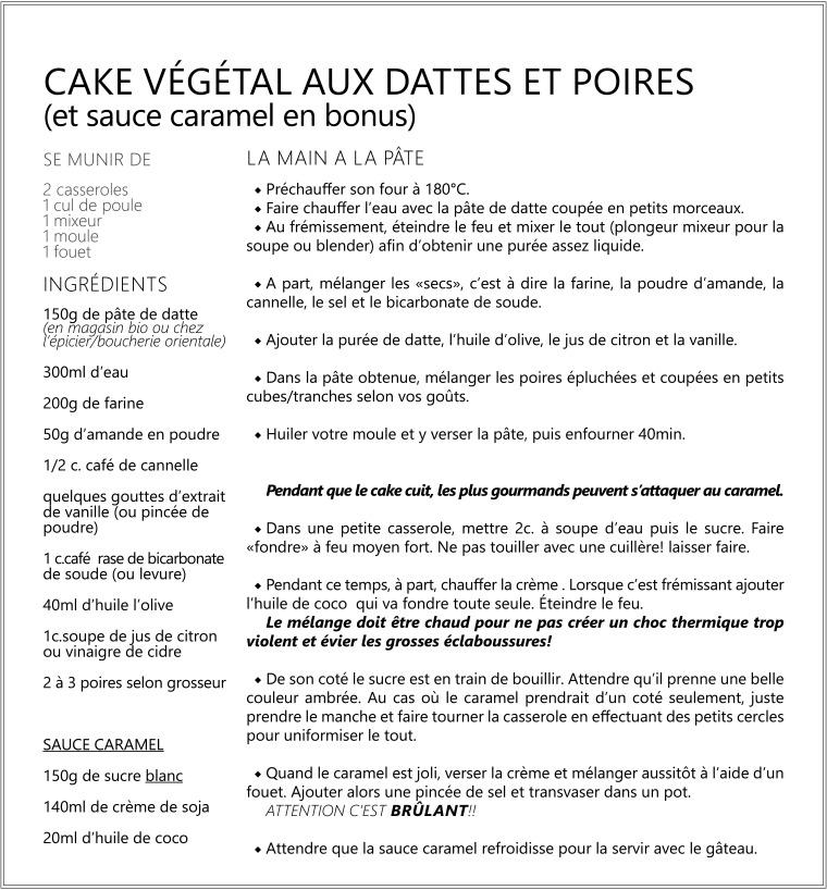 Cake vegetal aux dattes et poires -vegan-.jpg